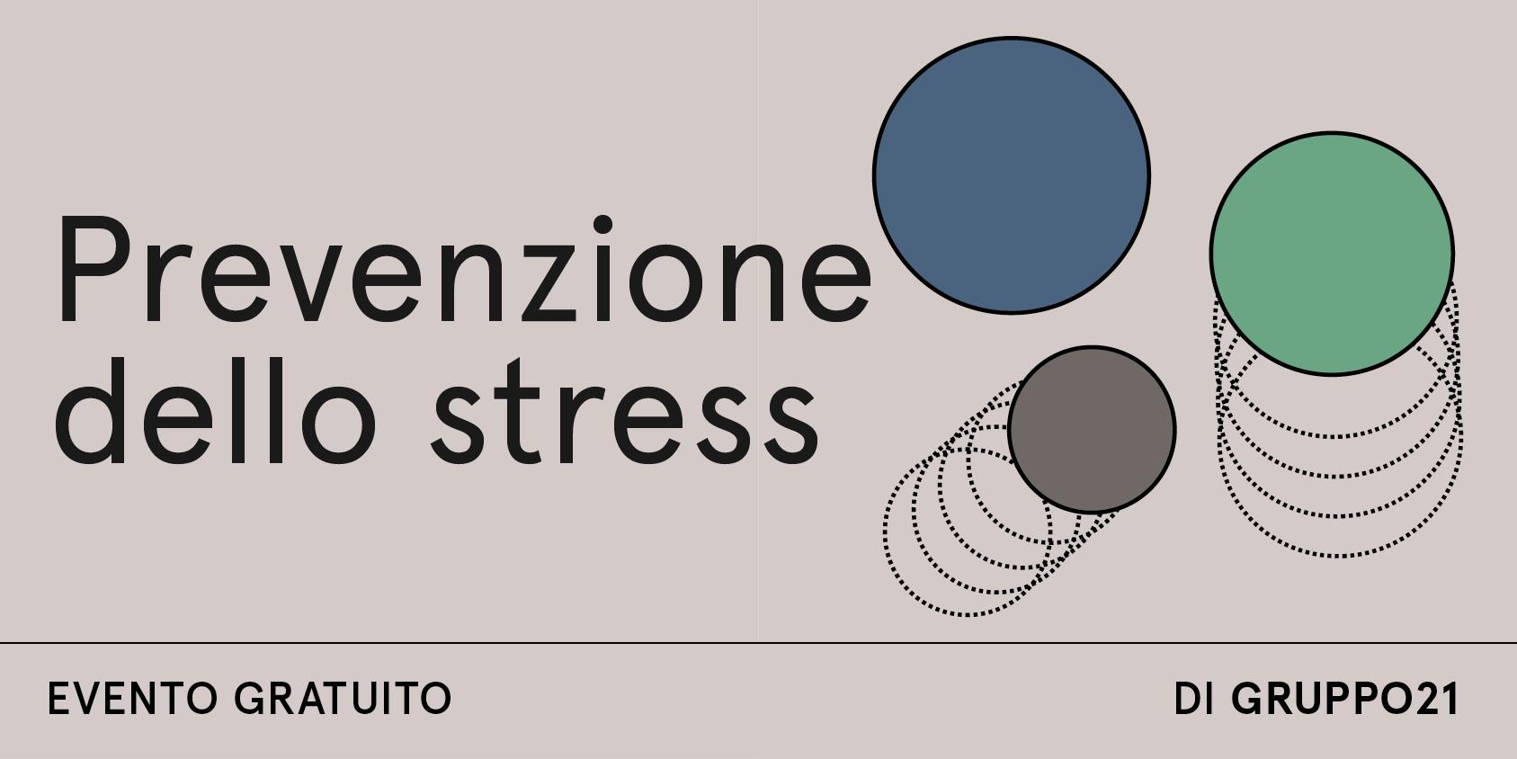 studio21 Prevenzione dello stress